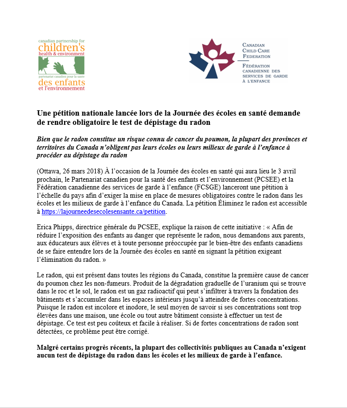 French media release, image